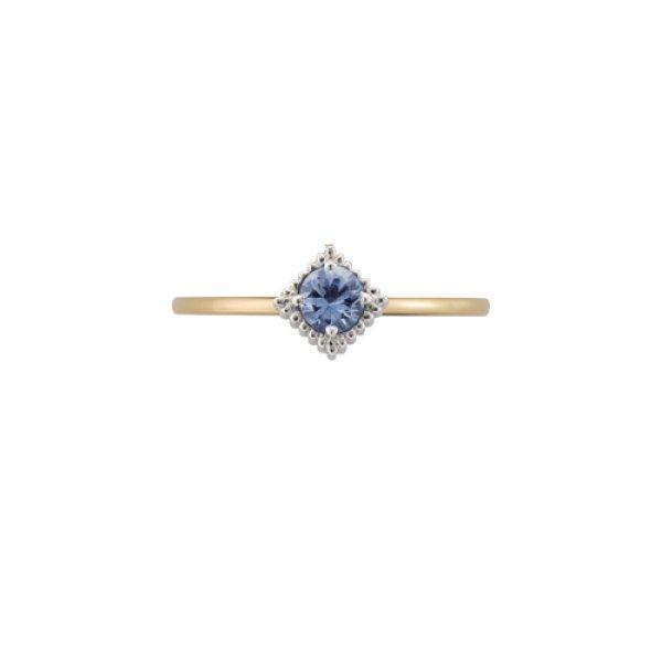 画像1: 【La foresta】 anello luceリング SS K18イエローゴールド