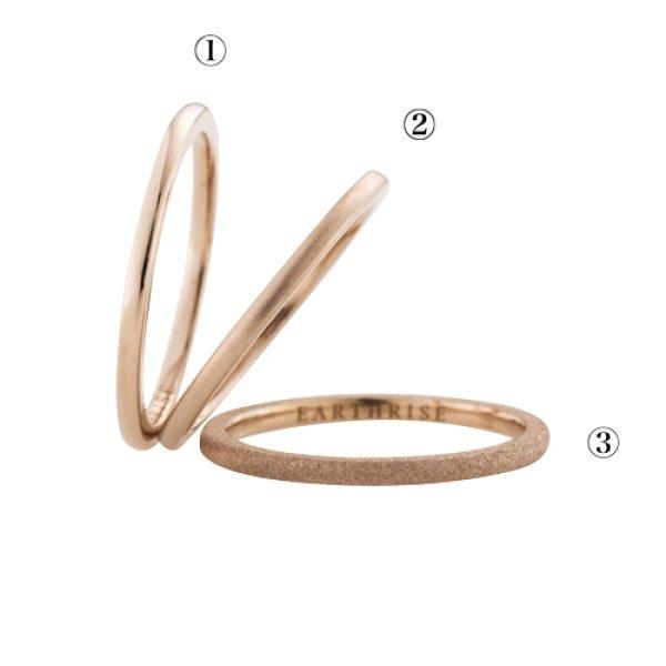 画像3: 【La foresta】 anello ピンキーリング SS K18ピンク(ローズプラチナ)ゴールド
